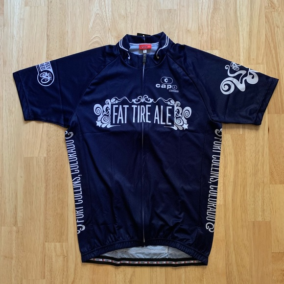 eff7f4ac27a NWT Fat Tire Ale Cycling Jersey
